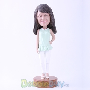 Picture of Casual Lady Standing Bobblehead