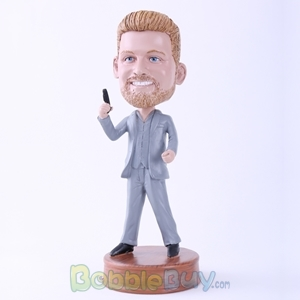 Picture of James Bond Cosplay Bobblehead