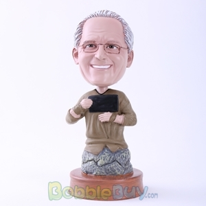 Picture of Karate Man Bobblehead