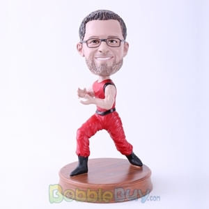 Picture of Kungfu Action Man Bobblehead