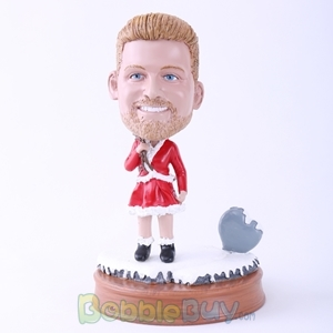 Picture of Male Santa Claus Bobblehead