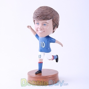 Picture of Man in Kicking Posture Bobblehead