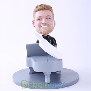 Picture of Man Playing Piano Bobblehead