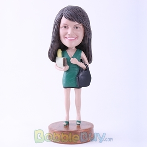Picture of Shopping Girl Bobblehead