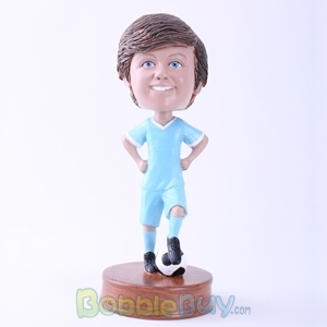Picture of Child Soccer Player Bobblehead