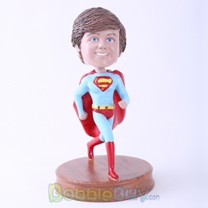 Picture of Superman Running Bobblehead
