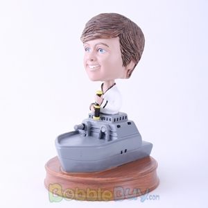 Picture of Warship Captain Bobblehead