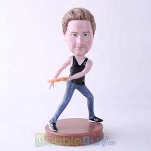 Picture of Frisbee Player Bobblehead