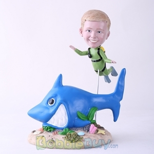 Picture of Scuba Diving Kid Bobblehead
