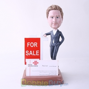 Picture of Male Property Agent Bobblehead