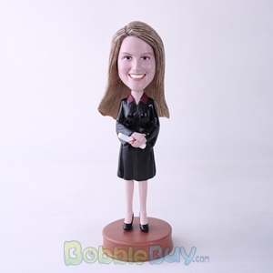 Picture of Female Graduate Bobblehead