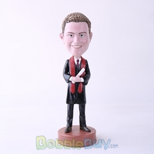 Picture of Male Graduate Bobblehead