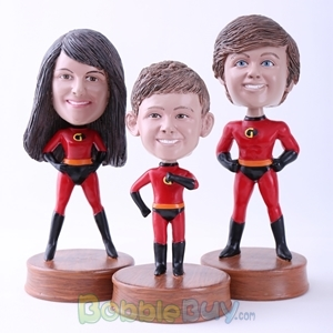 Picture of The Incredibles Family Bobblehead