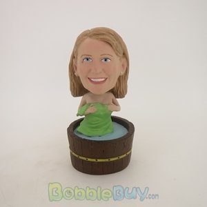 Picture of Bathing Woman Bobblehead