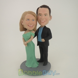 Picture of Arm Behind Woman Bobblehead
