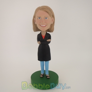 Picture of Black Clothes Girl Bobblehead