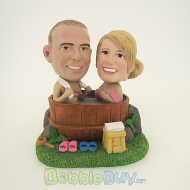 Picture of Bath Couple Bobblehead