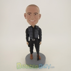 Picture of Armed Policeman Bobblehead