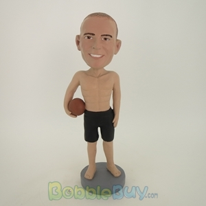 Picture of Basketball Man No Shirt Bobblehead
