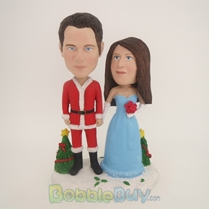 Picture of Christmas Couple Bobblehead