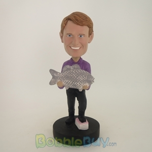 Picture of Big Catch Fisherman Bobblehead