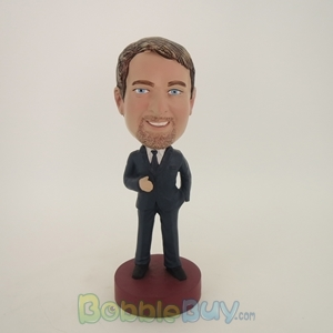 Picture of Business Man With Beard Bobblehead