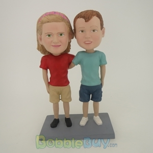 Picture of Friends Couple Bobblehead