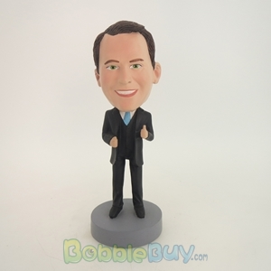 Picture of Business Man With Thumb Up Bobblehead