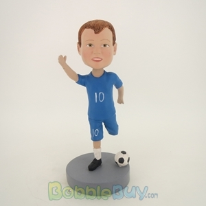 Picture of Boy Soccer Player Bobblehead