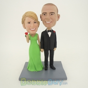 Picture of Hand In Hand Couple Bobblehead