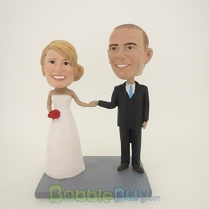Picture of Hand In Hand Wedding Bobblehead