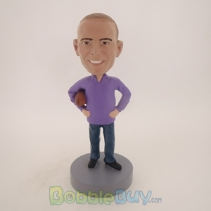 Picture of Casual Football Fan Bobblehead