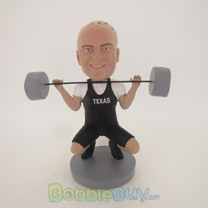 Picture of Dead Lift Male Bobblehead