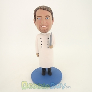 Picture of Doctor In Closed Lab Coat Bobblehead
