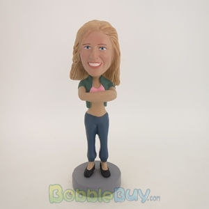 Picture of Cardigan Girl Bobblehead