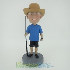 Picture of Fisherman With Rod Bobblehead