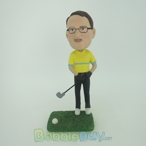 Picture of Golfer In The Tee Box Bobblehead