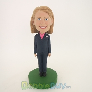Picture of Female Officer Bobblehead