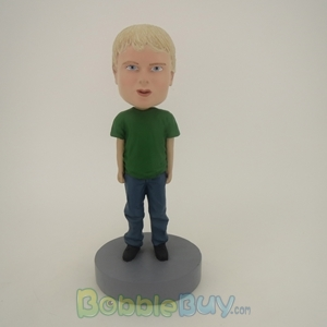 Picture of Little Boy In Green Bobblehead