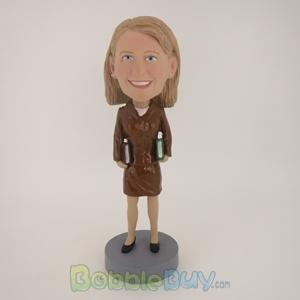 Picture of Female Teacher Bobblehead