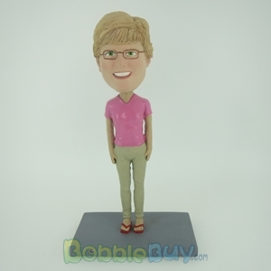 Picture of Glass Girl Bobblehead