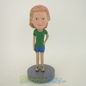 Picture of Green Sleeves Girl Bobblehead