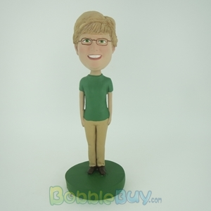 Picture of Green Sleeves Woman Bobblehead