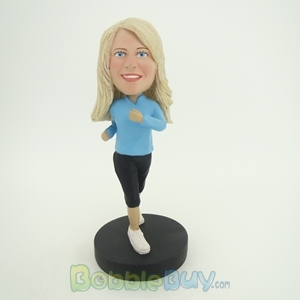 Picture of Jogging Woman Bobblehead