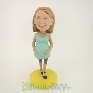 Picture of Pregnant Woman Bobblehead