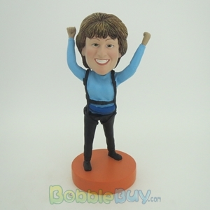 Picture of Sky Diving Woman Bobblehead