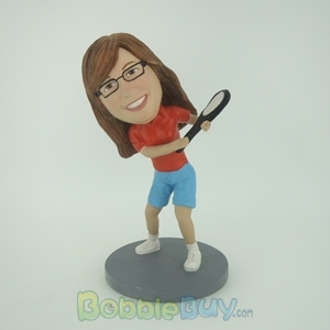Picture of Tennis Woman Bobblehead