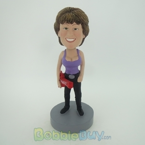 Picture of Violin Woman Bobblehead