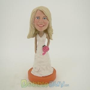 Picture of White Wedding Dress Girl Bobblehead