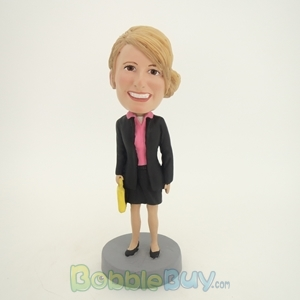 Picture of White-Collar Worker Woman Bobblehead